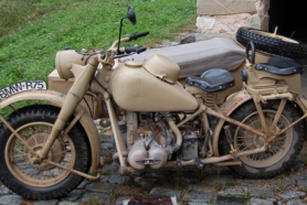 BMW r75. ZUNDAPP KS 750