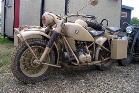 BMW R-75, ZUNDAPP KS-750