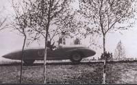 Э. Корев в 1960 году на автомобиле ГАЗ-СГ4.