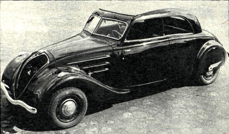 peugeot 302 1938 года