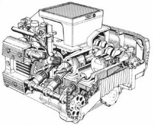 Двигатель К100
