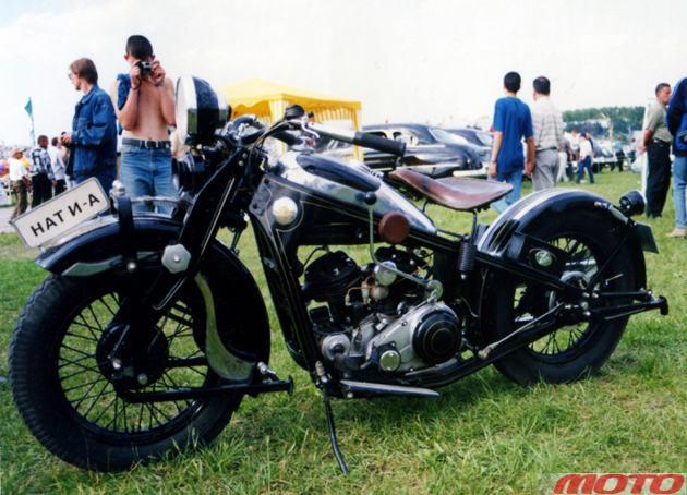 мотоцикл НАТИ-А-750