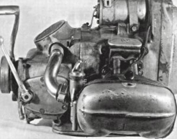 Верхнеклапанный двигатель М-75