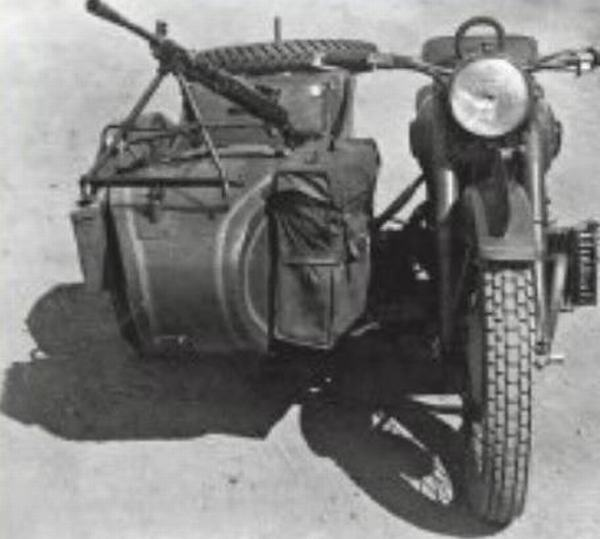 М-72 с коляской Москва