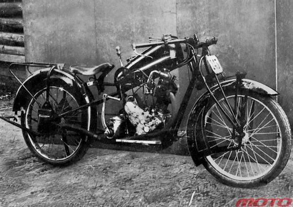советский мотоцикл «Союз»