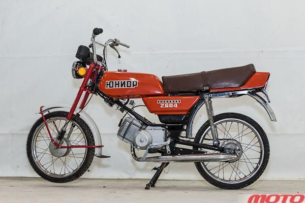 "мотоцикл ""Юниор"""
