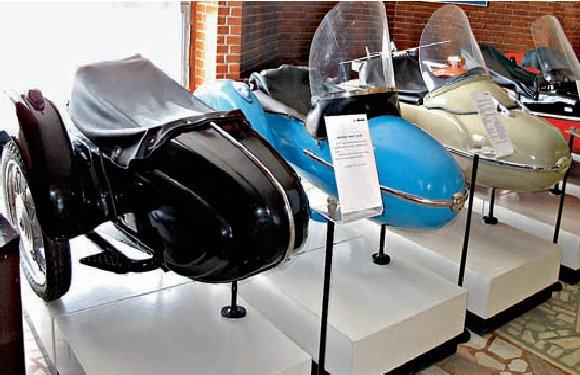 мотороллер Иж-49, 1951г