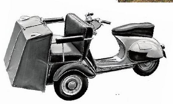 мотороллер Вятка ВП-150Т, мототакси