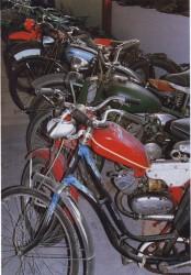 коллекция мотоциклов Музея экипажей и автомобилей.