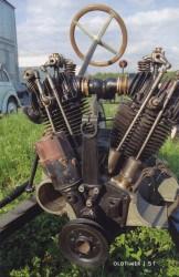 чудом сохранившееся шасси первого советского малолитражного автомобиля - НАМИ-1.