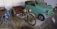 инвалидная коляска К1В 1949 г. и СЗА 1958 г.