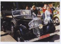 """Июнь 2004 года. Фестиваль """"Ретро Стиль"""". Mercedes-Benz 290, представленный MB Classic Club."""