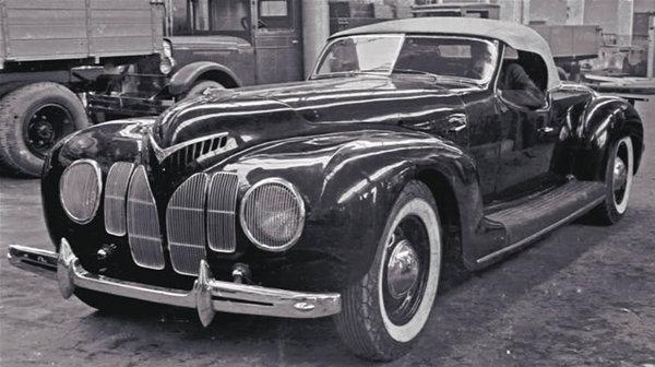 ЗИС-101А Спорт 1938 г.
