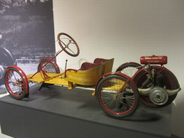 Louwman Museum в Гааге.Briggs Stratton Flyer 1920 г