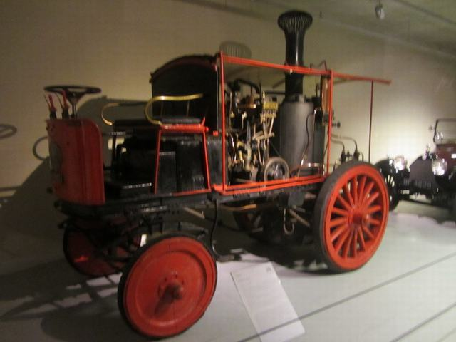Louwman Museum в Гааге.Bikkers Steam Car 1907 г