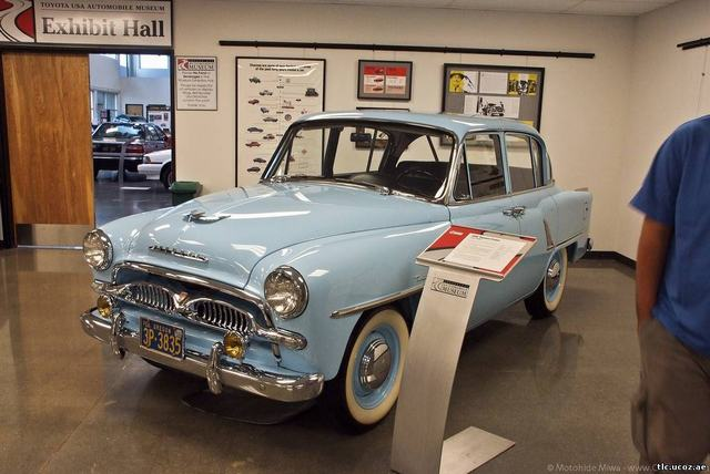 Музей Toyota в Торрансе (Калифорния, США).Toyopet Crown Custom 1959 г